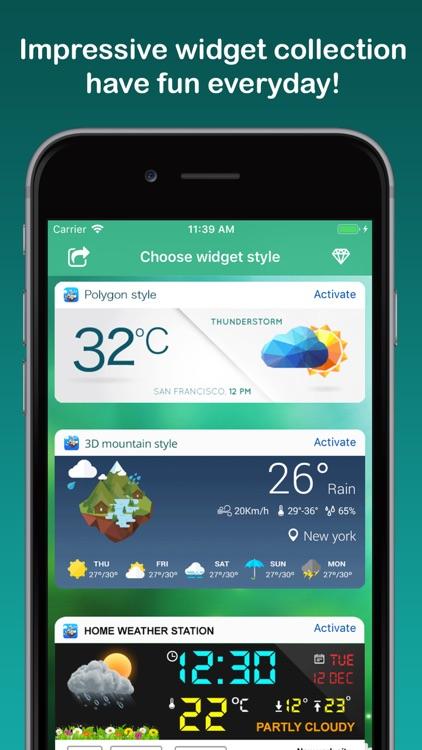 Weather Widget & Radar screenshot-3