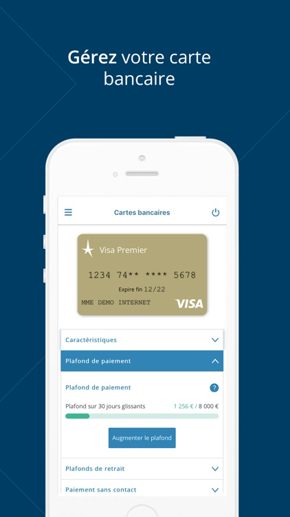Banque Nuger pour iPhone screenshot-5