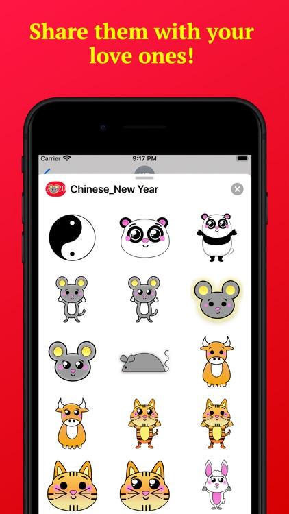 Happy Chinese New Year 2020 screenshot-3