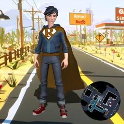 Flying Speed Super Hero Flash