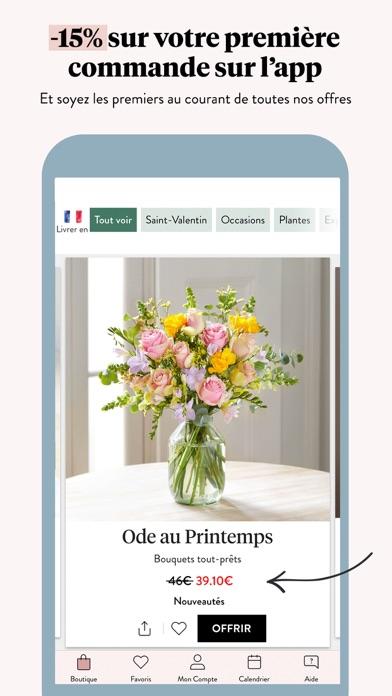 Screenshot #2 pour Bloom & Wild Fleurs & Cadeaux