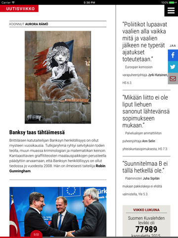 Suomen Kuvalehti - náhled