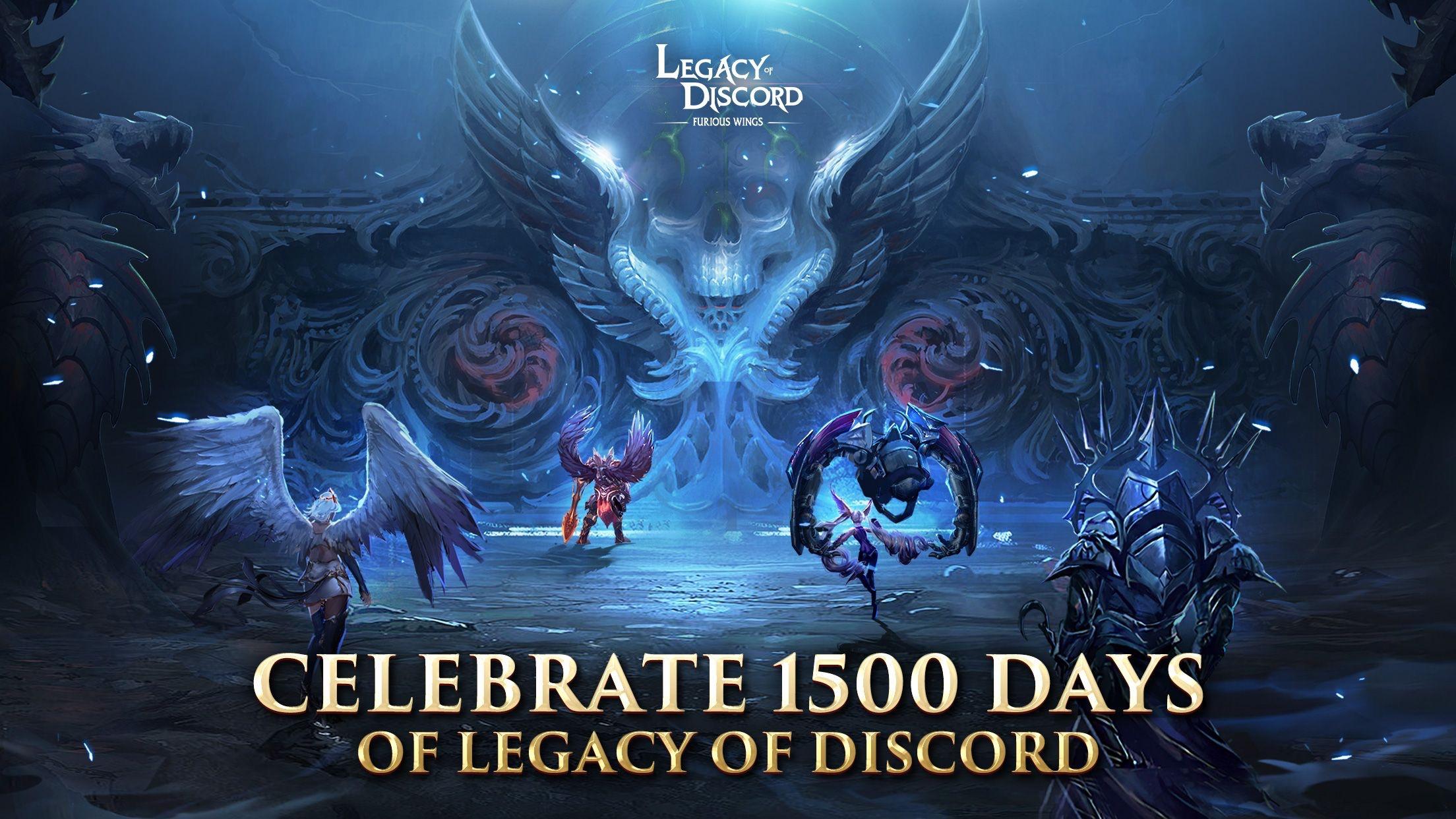 Legacy of Discord-FuriousWings Screenshot