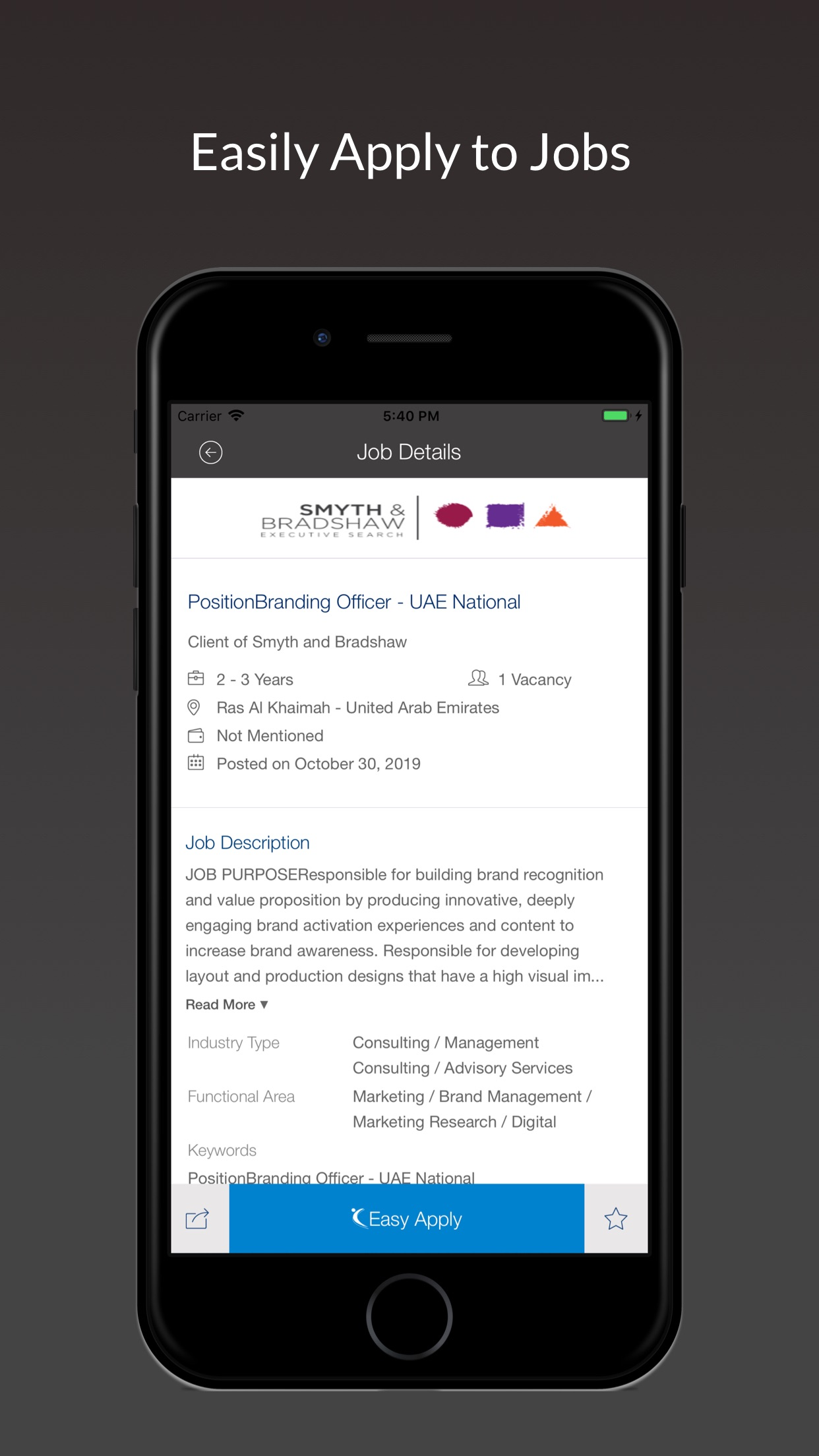 Naukrigulf Job Search App Screenshot