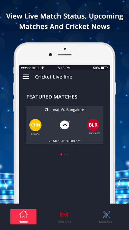 LineGuru : Cricket Live Line screenshot-0