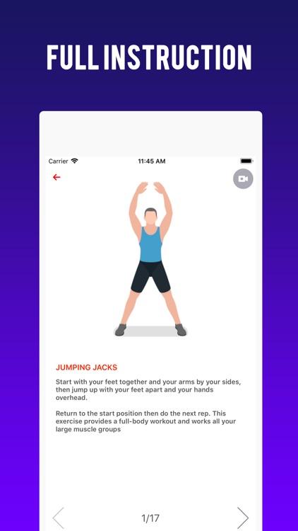 Home Workout Challenge screenshot-3