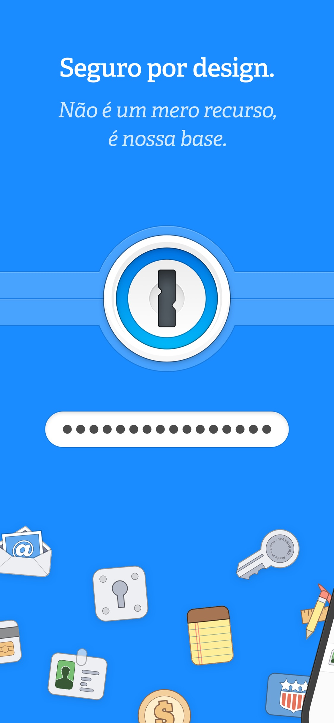 Screenshot do app 1Password - Password Manager