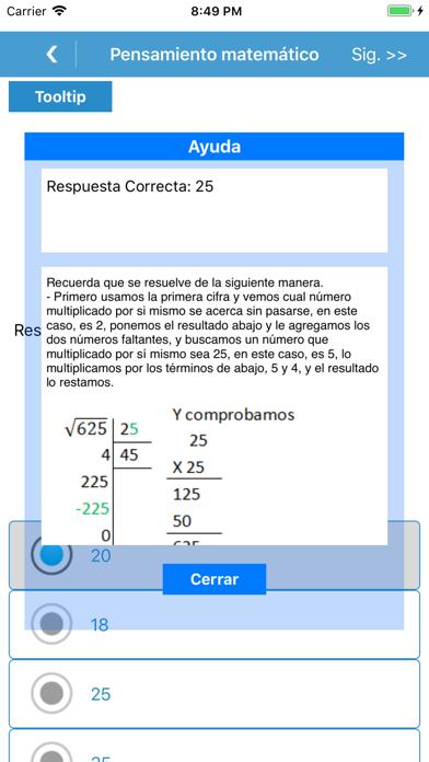 Mi guia Exani Uno Pro app image