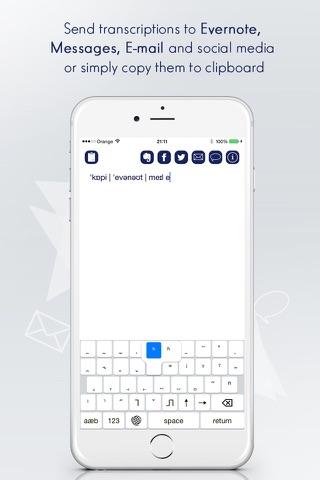IPA Keyboard: IPA Alphabet - náhled