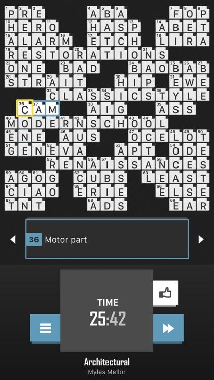 Crossword Puzzle Redstone screenshot-8