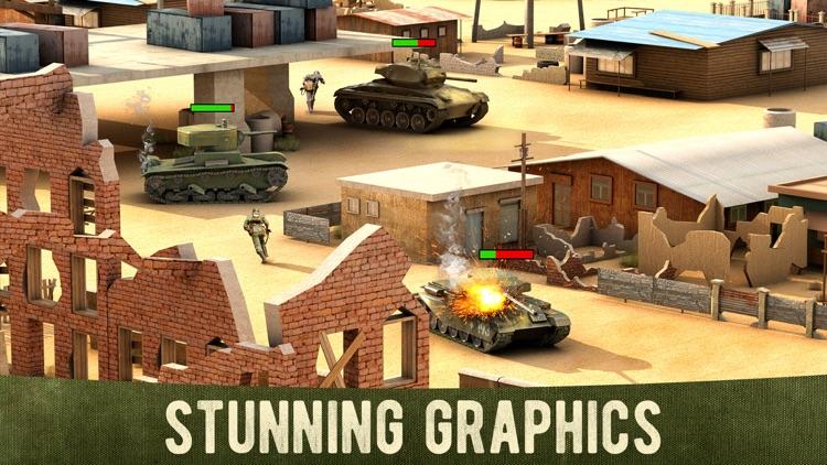 War Machines: 3D Tank Games screenshot-3