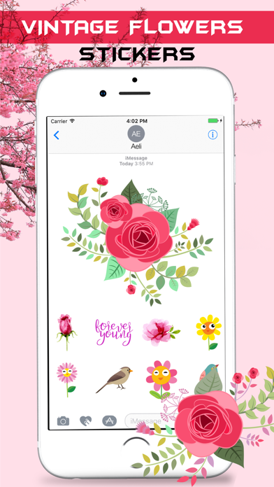 Vintage Watercolor Stickers screenshot two