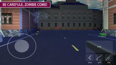 Zombie Target: War Death City screenshot 3