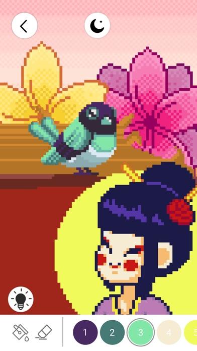 番号でぬりえ: ピクセル着色ゲームのおすすめ画像1