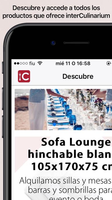 interCulinarium screenshot one