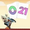 Super Solitaire 21 to Zero