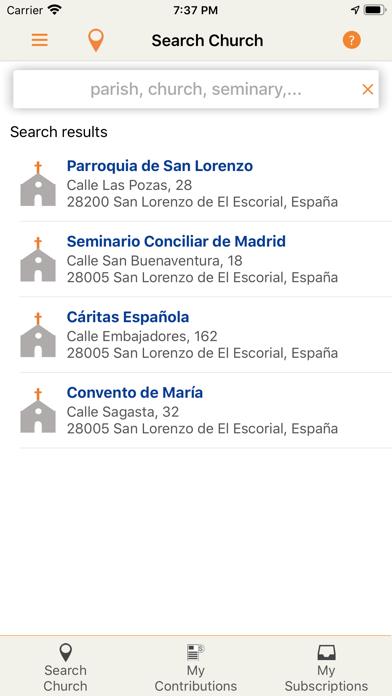 Tu Cestillo Parroquial screenshot 1