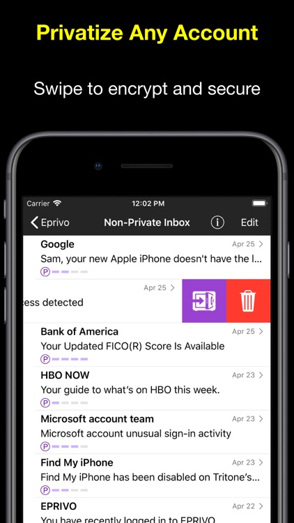 EPRIVO Private Email w/ Voice screenshot-7
