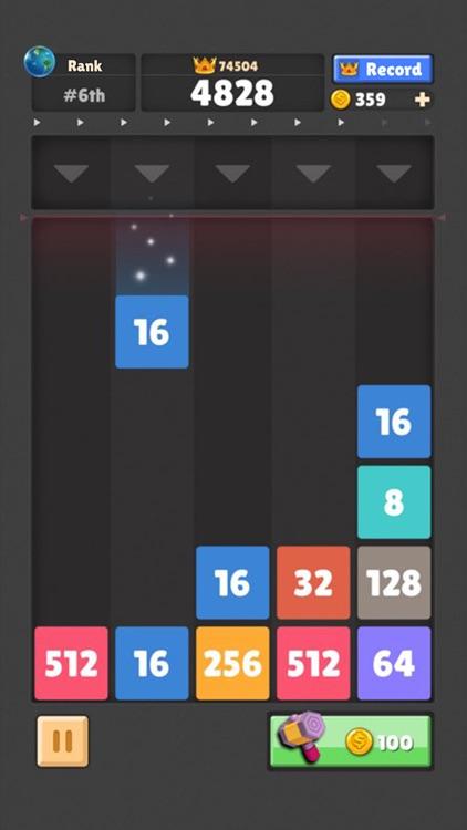Drop The Number : Merge Puzzle screenshot-4