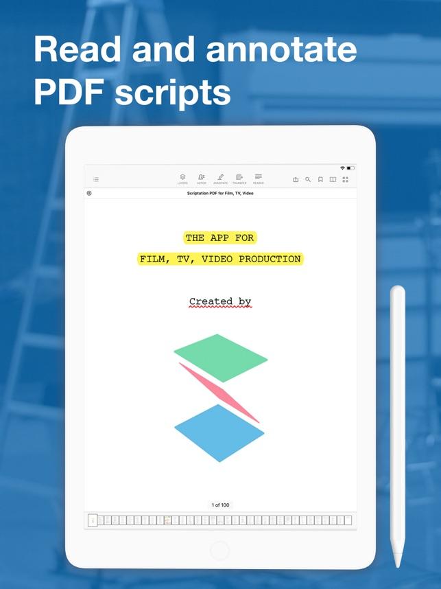 Scriptation: PDF for Film & TV on the App Store