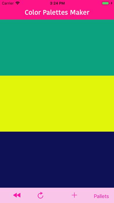 Color Palettes Maker screenshot #1