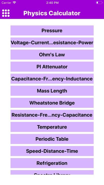 Physics Calculation