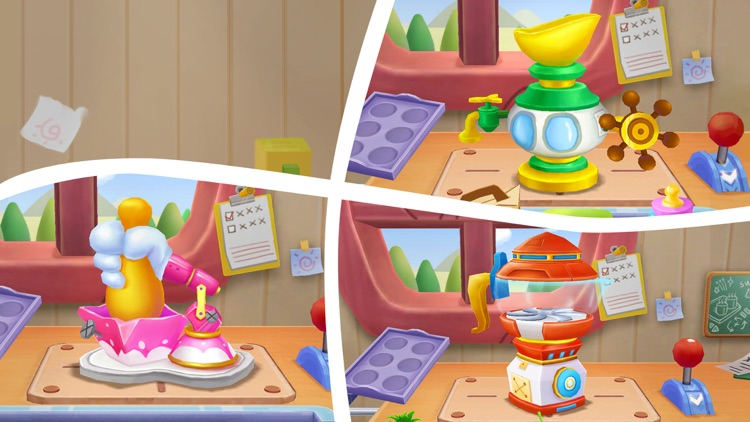 Candy Factory-Super Panda Game