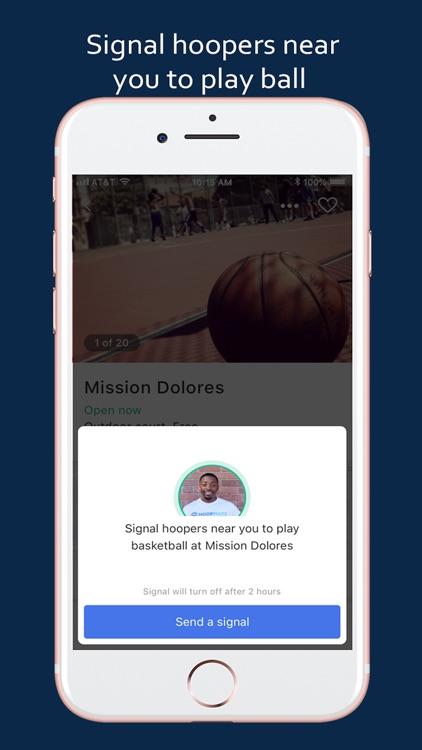 Hoopmaps: Pickup Basketball