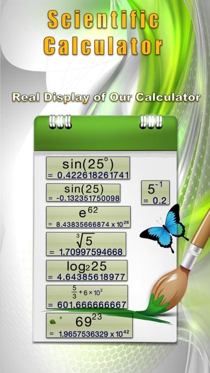 Calculator-Voice & Effect screenshot-3