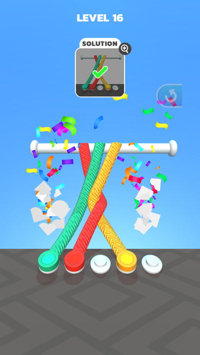 Tangle Master 3D screenshot 5