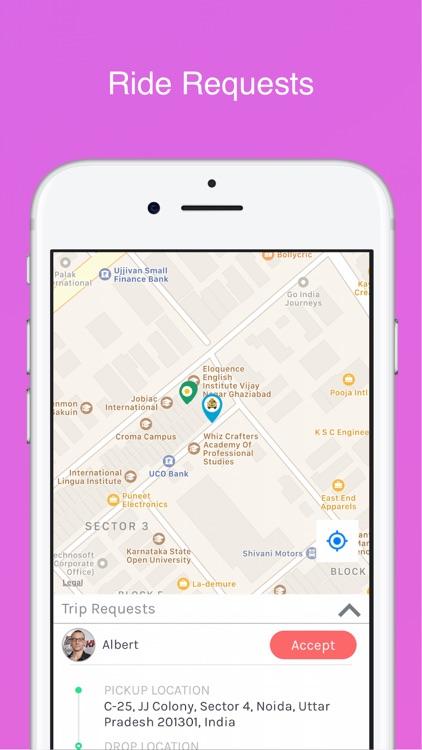 HireMe - Taxi app for Drivers screenshot-7