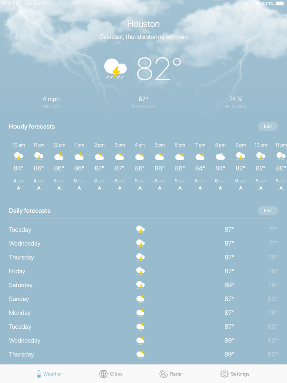 Weather · screenshot 19
