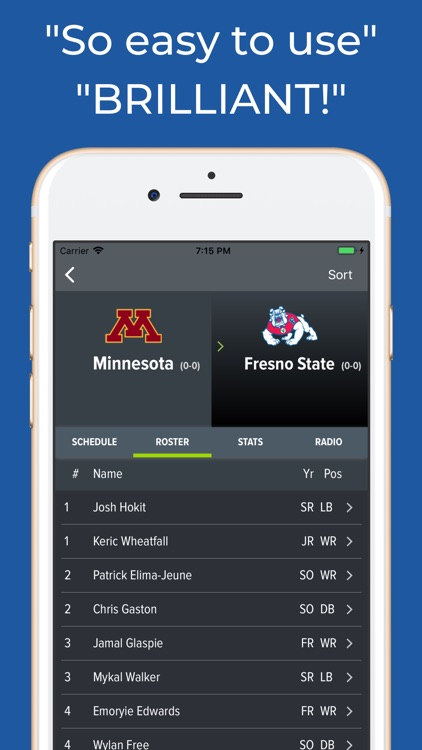 Fresno State Football App screenshot-2