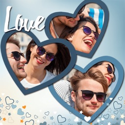 Love Photo Collage & Frames