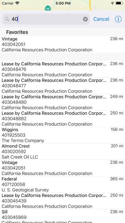California Oil Well Finder screenshot-3