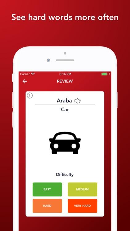 Tobo Learn Turkish Vocabulary screenshot-5