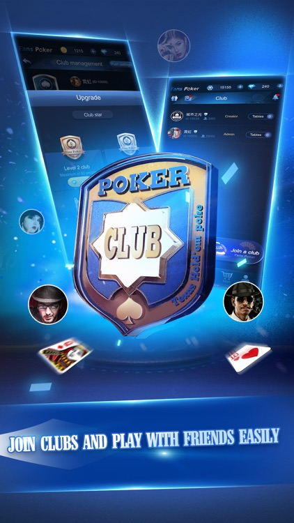 Fans Poker Club Your Friends By Sunvy Co Ltd