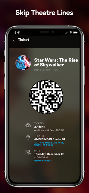 AMC Theatres: Movies & More on the App Store