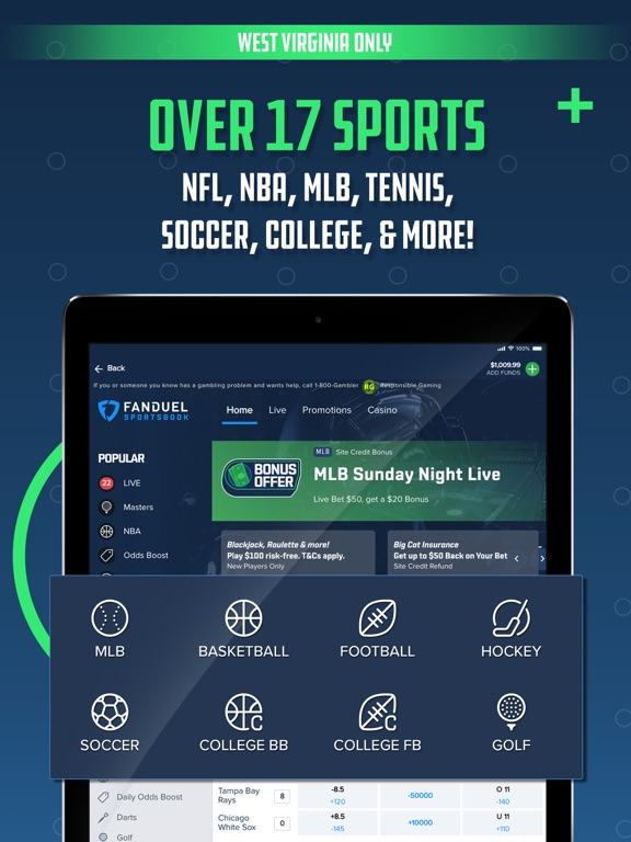 WV: FanDuel Sportsbook screenshot 9