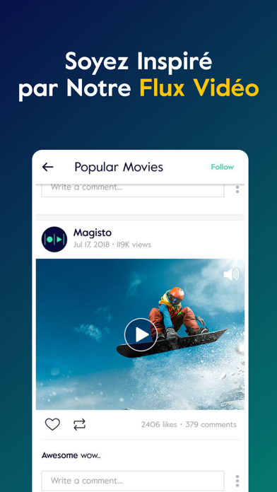 download Magisto Montage Vidéo & Photos apps 7