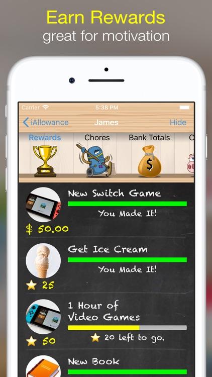 iAllowance Lite with Chores screenshot-3