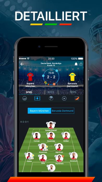 Screenshot for 365Scores - Sport Live Ticker in Germany App Store
