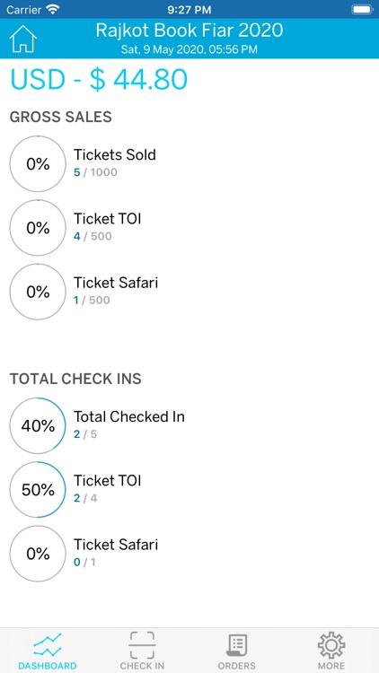 Paytix Organiser screenshot-3