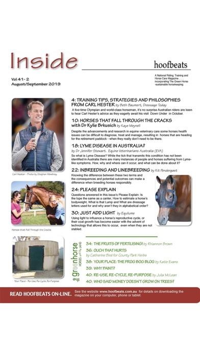 Hoofbeats MagazineScreenshot of 1