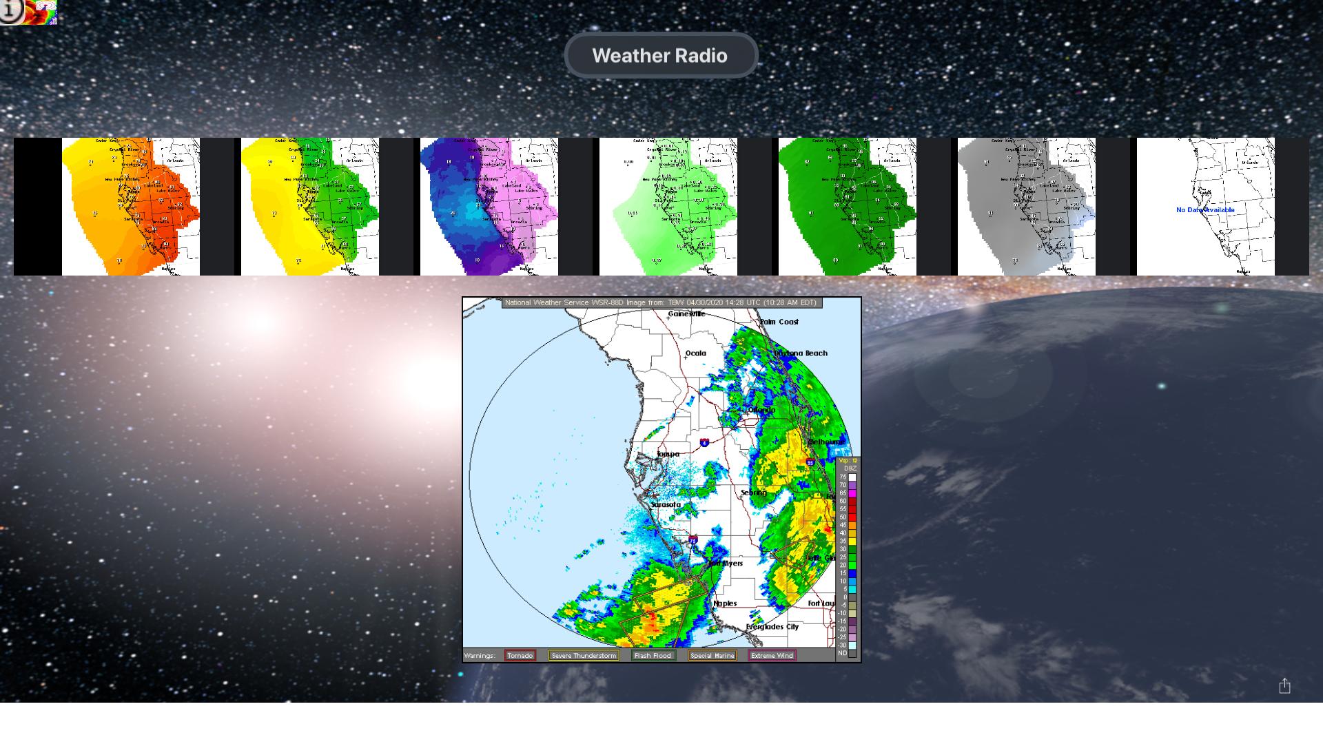 Instant NOAA Radios Lite screenshot 15