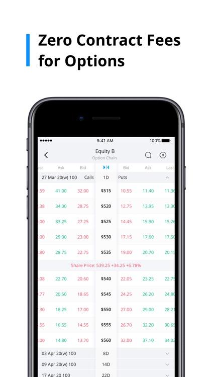 Webull: Stocks, Options & ETFs