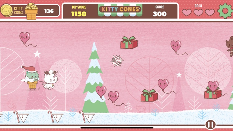 Kitty Cones Christmas screenshot-3
