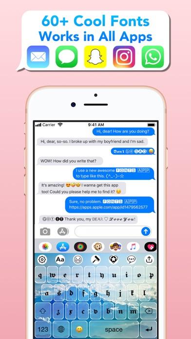 messages.download Schöne Schriftarten: Fonts App software