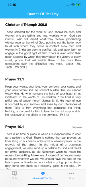 Bible with EGW ments on the App Store