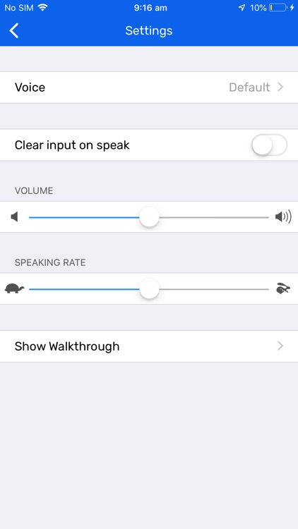 Talk Assist - Text to speech screenshot-4